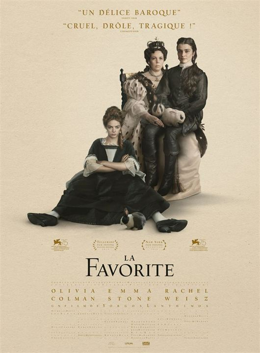 THE FAVOURITE - 5 nominations