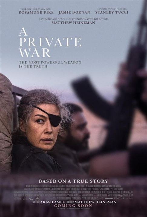 A PRIVATE WAR - 2 nominations