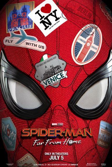 """Spider-Man va faire le tour de l'Europe dans """"Far From Home"""""""