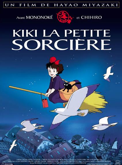10/ Kiki la petite sorcière