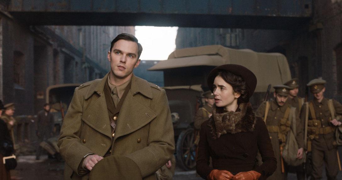 Tolkien avec Nicholas Hoult, Lily Collins...