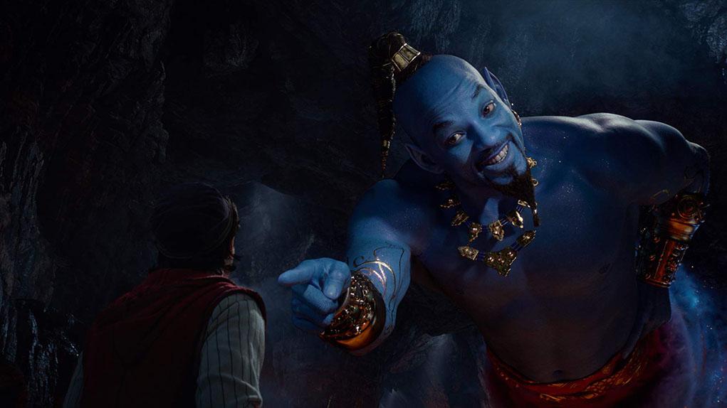Aladdin avec Mena Massoud, Will Smith...