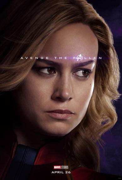 Carol Danvers / Captain Marvel : 0,67% des votes
