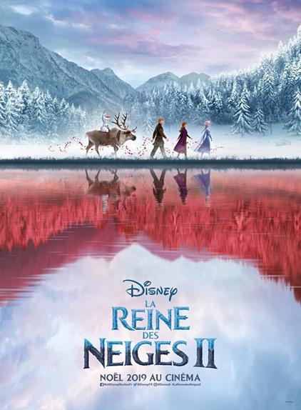 La Reine des neiges 2 avec les voix d'Idina Menzel, Kristen Bell, Josh Gad...