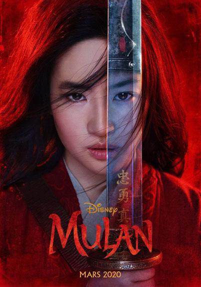 Mulan avec Yifei Liu, Donnie Yen, Jason Scott Lee...