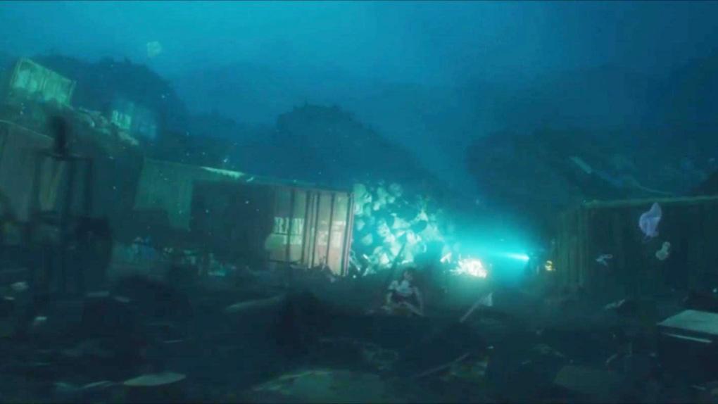 Où se cache Annabelle dans Aquaman ?