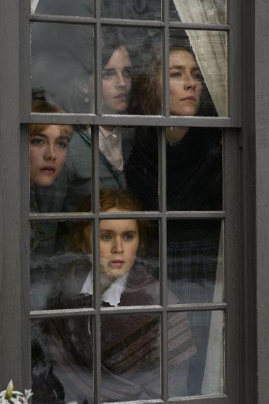 Les Filles du Docteur March avec Saoirse Ronan, Emma Watson, Florence Pugh...
