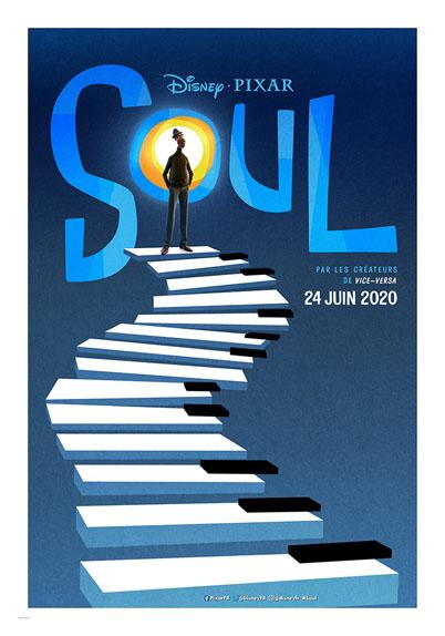 Soul avec les voix de Jamie Foxx, Tina Fey et Daveed Diggs