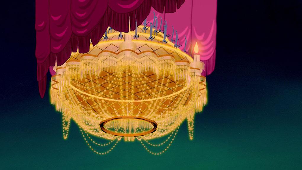 Dans quel film Disney peut-on voir ce lustre ?