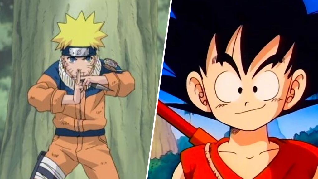 Gokû, Naruto : même combat