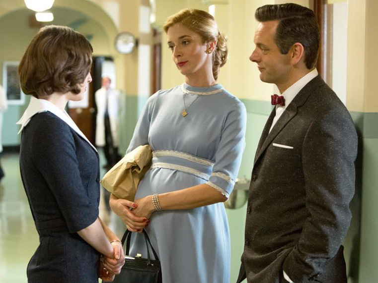 Photo Caitlin Fitzgerald, Michael Sheen