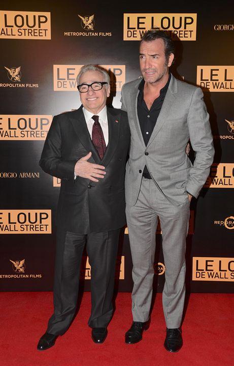 Le Loup de Wall Street : Photo promotionnelle Jean Dujardin, Martin Scorsese