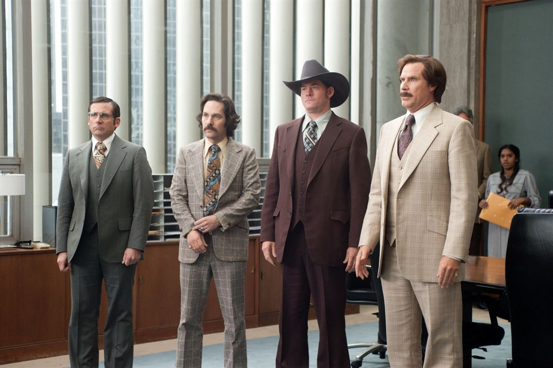 Légendes Vivantes : Photo David Koechner, Paul Rudd, Steve Carell, Will Ferrell