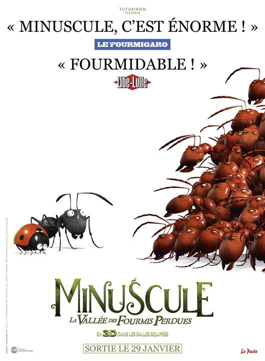 Minuscule - La vallée des fourmis perdues : Affiche