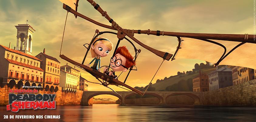 M. Peabody et Sherman : Les Voyages dans le temps : Photo promotionnelle