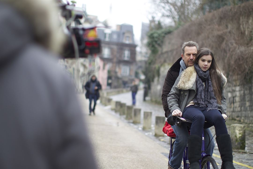 3 Days to Kill : Photo Hailee Steinfeld, Kevin Costner