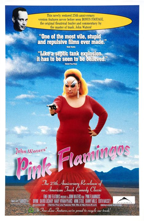 Pink Flamingos : Affiche
