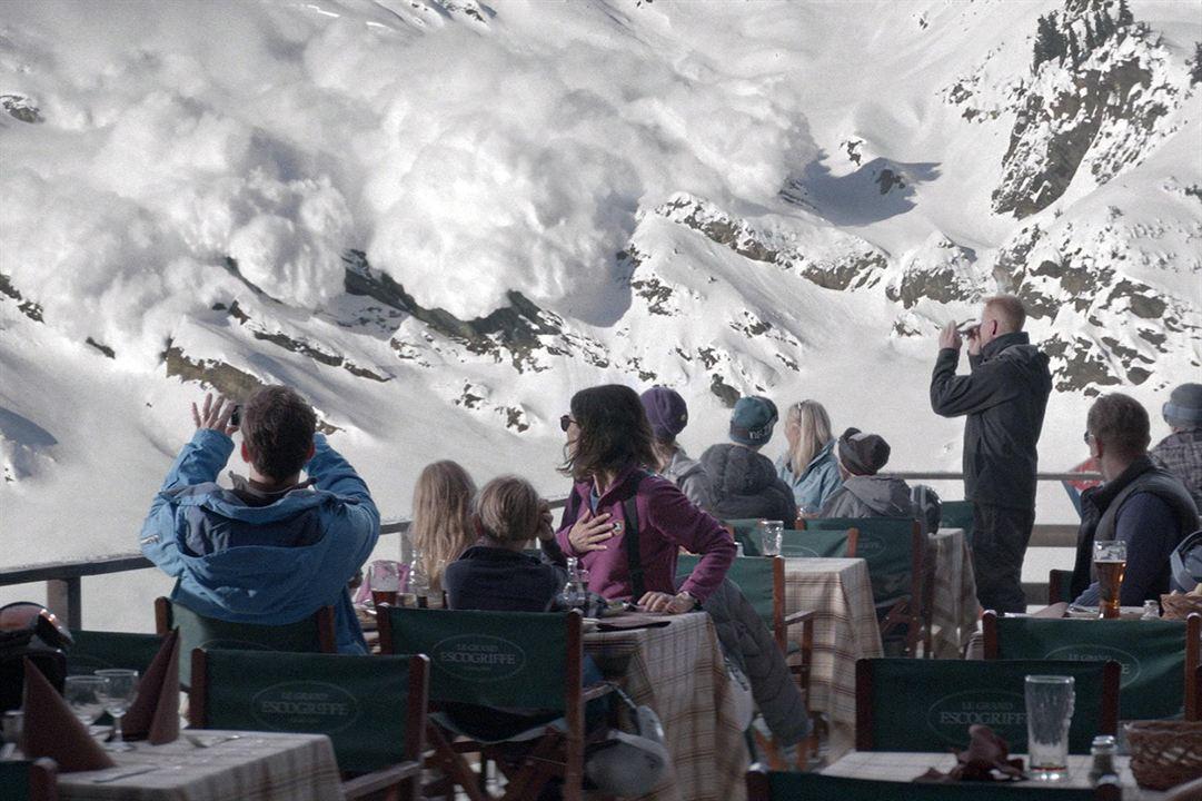 Snow Therapy : Photo Clara Wettergren, Johannes Kuhnke, Lisa Loven Kongsli, Vincent Wettergren