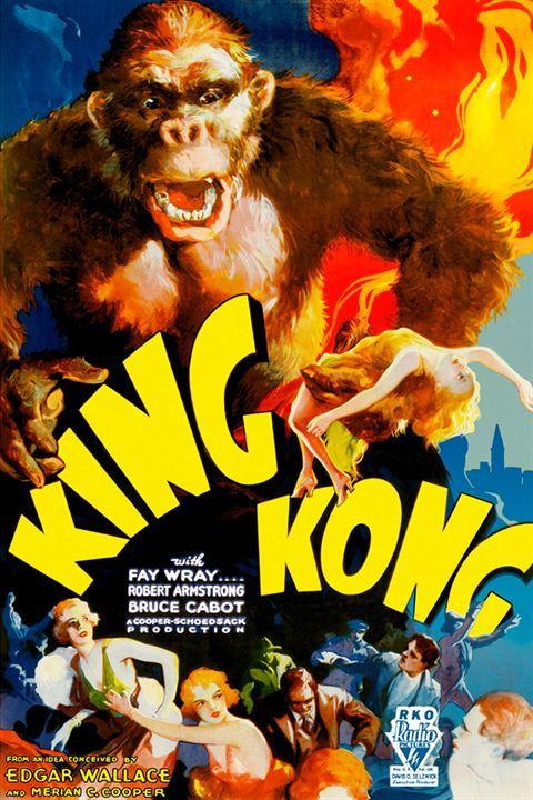 King Kong : Affiche