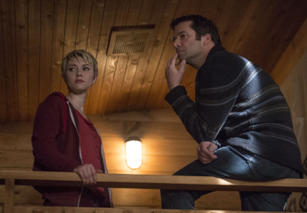 Photo James Purefoy, Valorie Curry