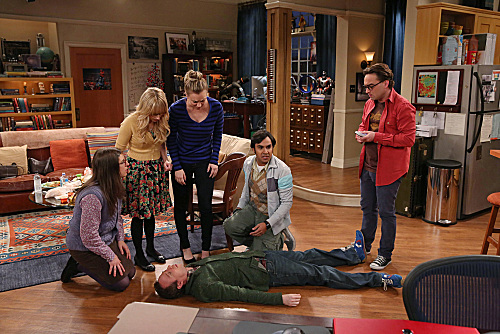 Photo Johnny Galecki, Kaley Cuoco, Kevin Sussman, Kunal Nayyar, Mayim Bialik