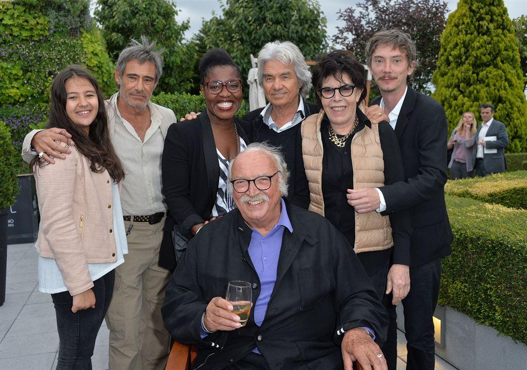 Bon rétablissement ! : Photo promotionnelle Claudia Tagbo, Daniel Guichard, Gérard Lanvin, Jean Becker, Mona Jabeur