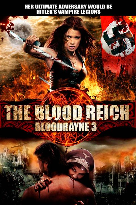 Bloodrayne: The Third Reich : Affiche