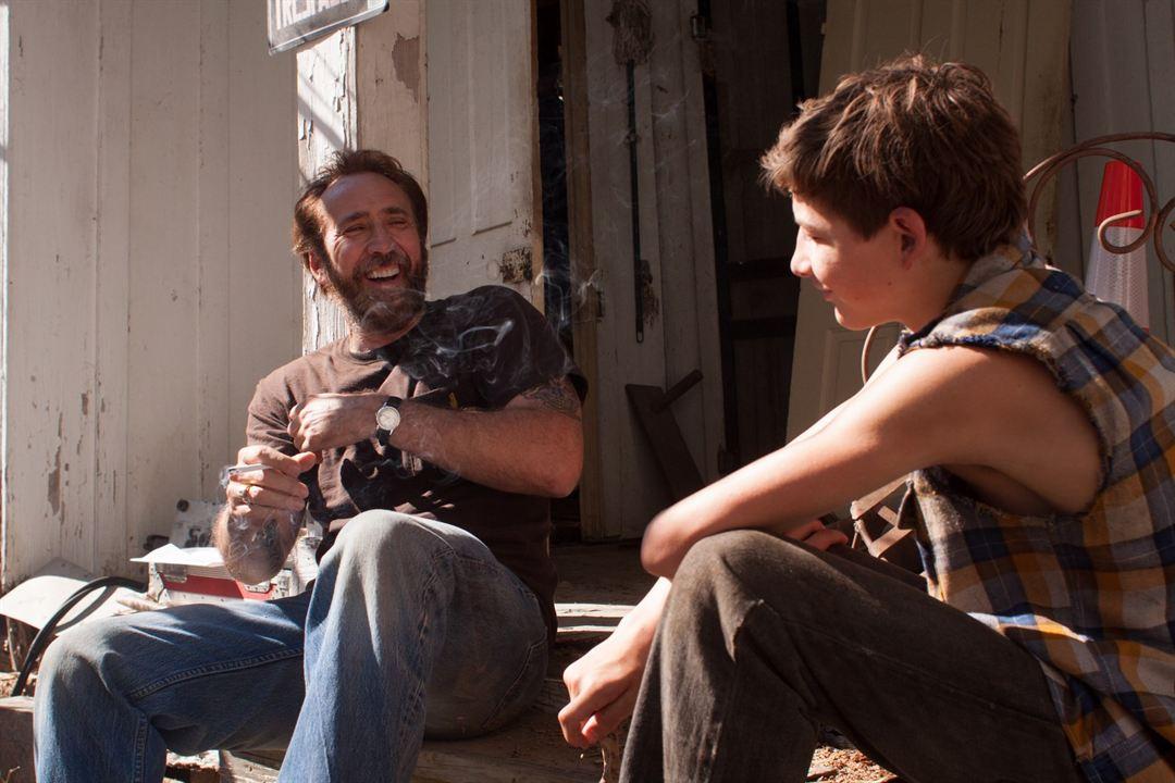 Joe : Photo Nicolas Cage, Tye Sheridan