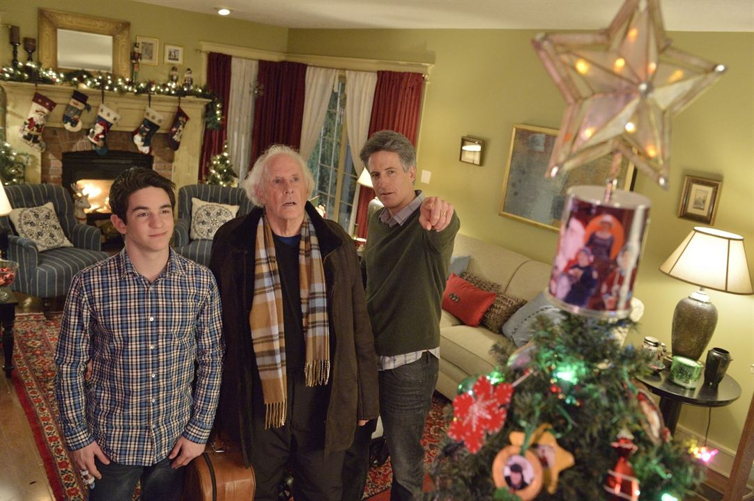 Un Noël sans fin : Photo Bruce Dern, Rick Roberts, Zachary Gordon