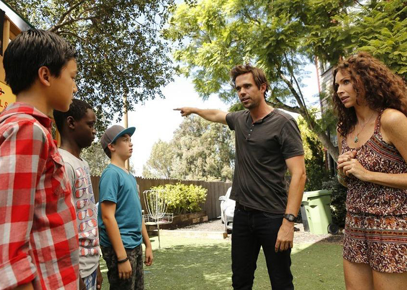 Photo David Walton, Jacob Hopkins, Minnie Driver