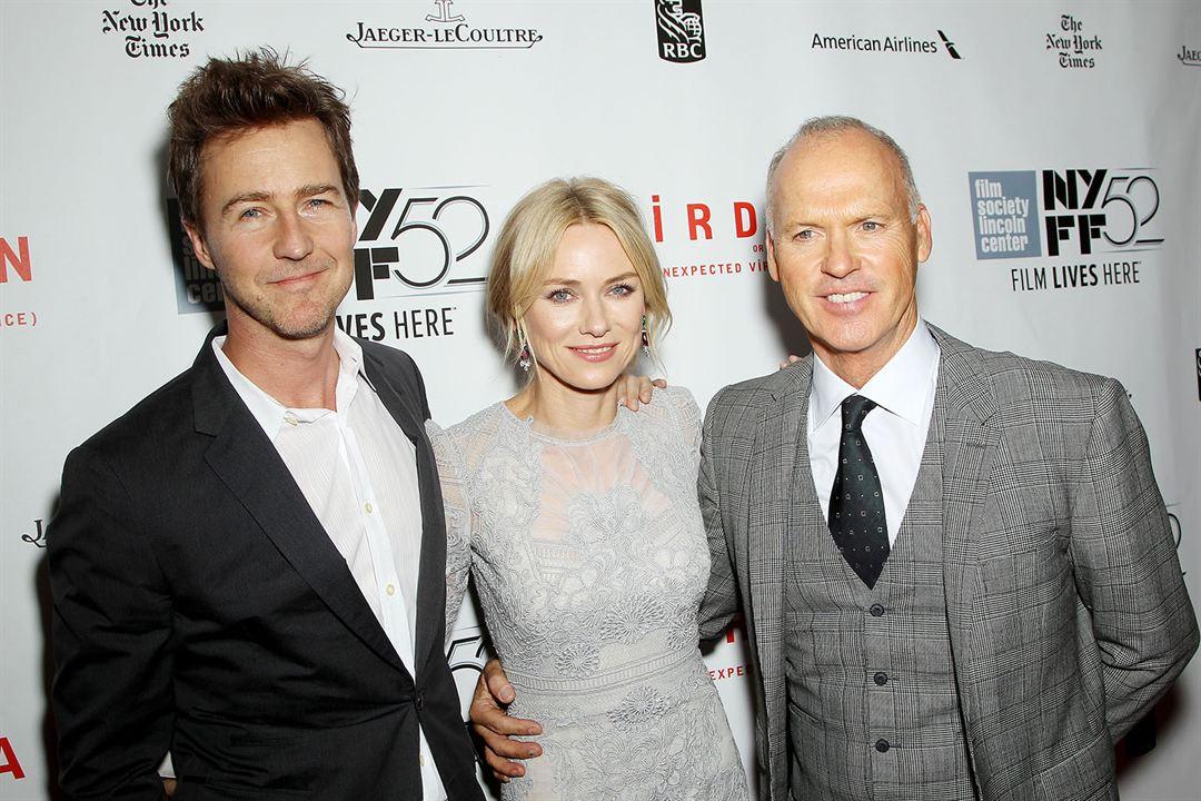 Birdman : Photo promotionnelle Edward Norton, Michael Keaton, Naomi Watts
