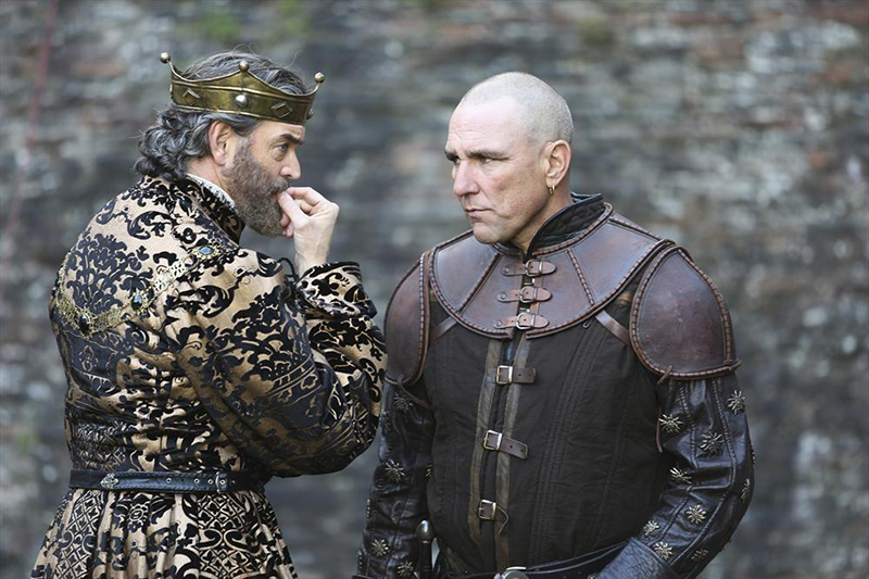 Photo Timothy Omundson, Vinnie Jones