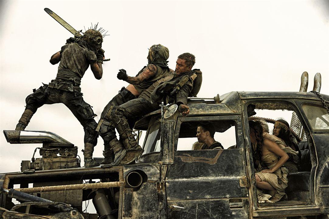 Mad Max: Fury Road : Photo Charlize Theron, Tom Hardy
