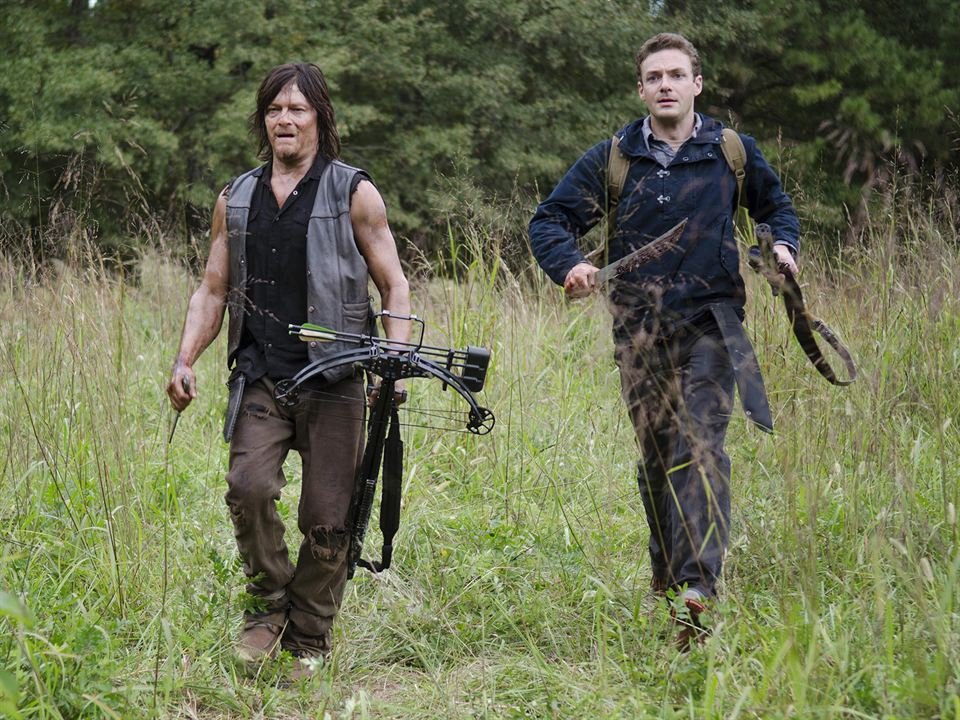 Photo Norman Reedus, Ross Marquand