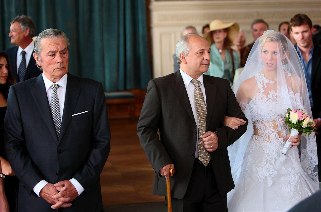 Un mari de trop : Photo Alain Delon, Lorie Pester, Vincent Nemeth