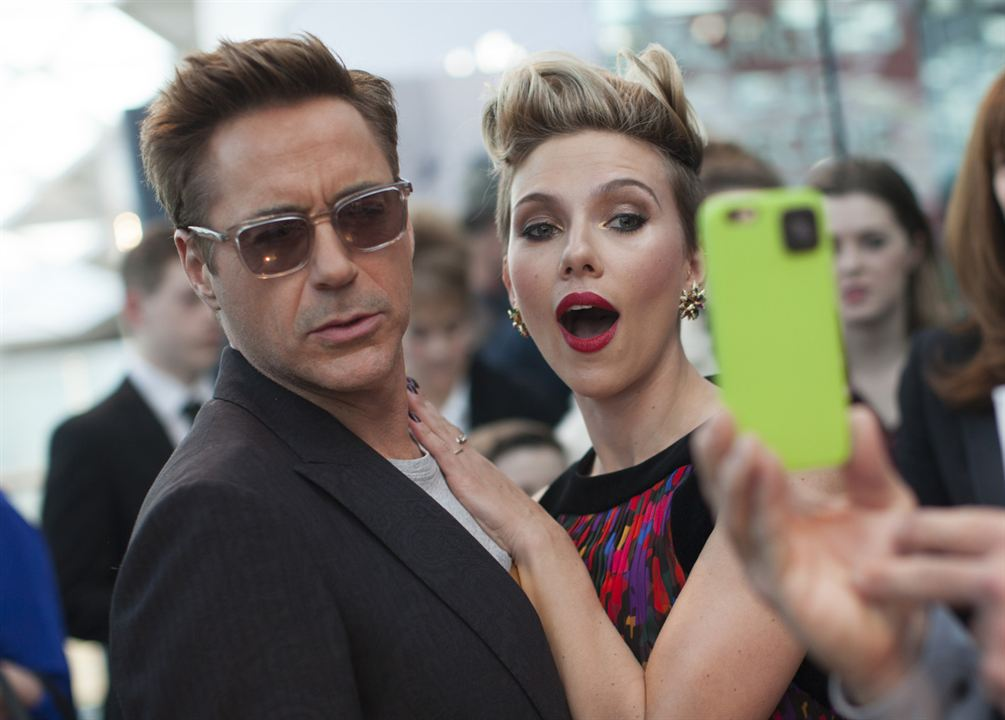 Avengers : L'ère d'Ultron : Photo Robert Downey Jr., Scarlett Johansson