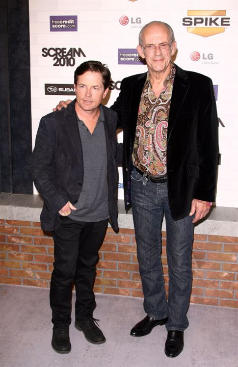 Photo promotionnelle Christopher Lloyd, Michael J. Fox
