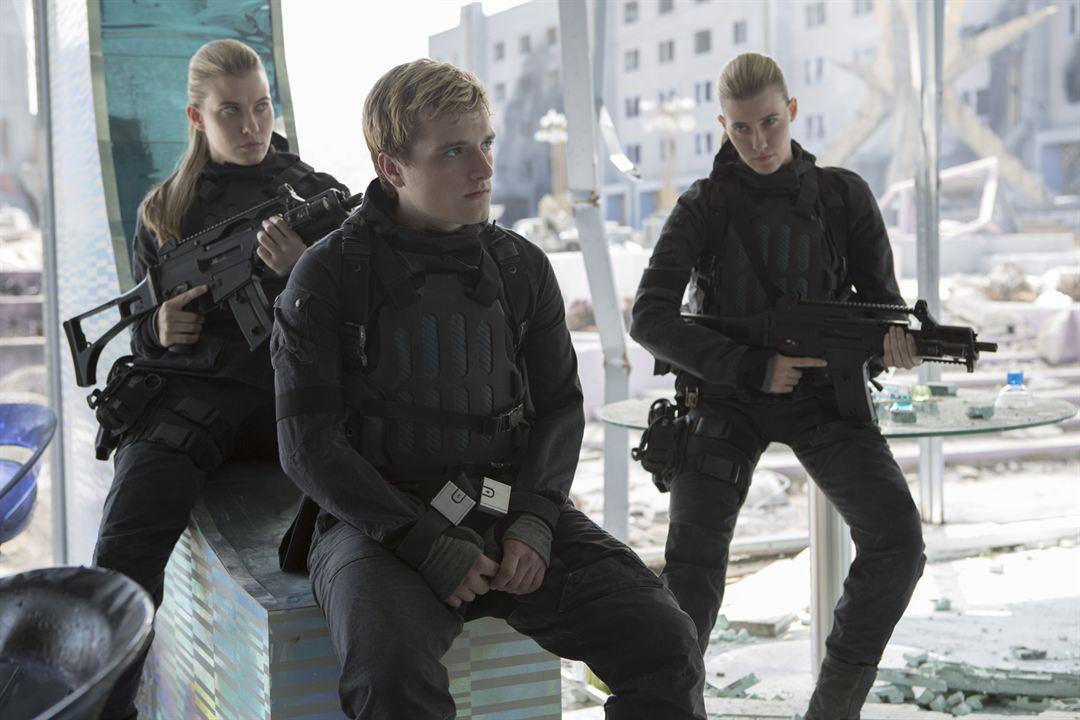 Hunger Games - La Révolte : Partie 2 : Photo Josh Hutcherson, Kim Ormiston, Misty Ormiston