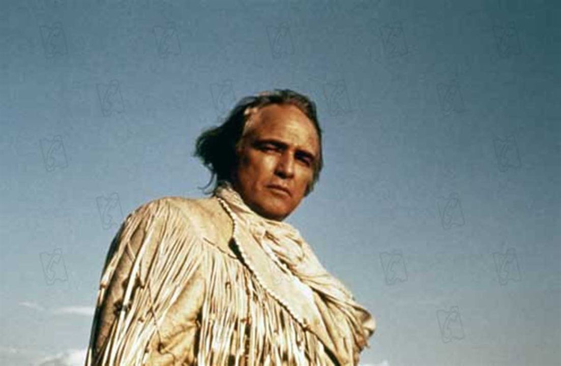 The Missouri Breaks : Photo Arthur Penn, Marlon Brando