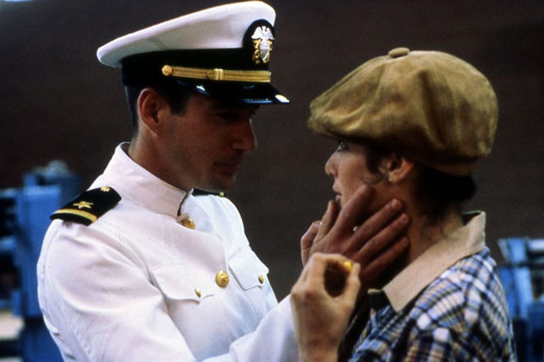 Officier et gentleman : Photo Debra Winger, Richard Gere