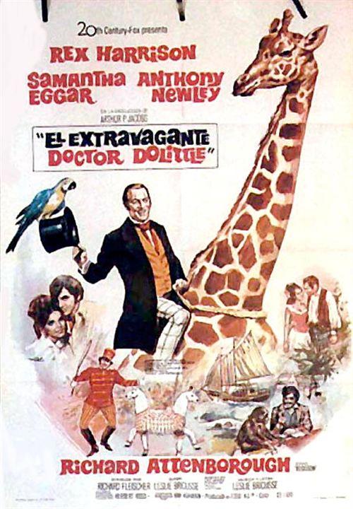 L'Extravagant docteur Dolittle : Affiche