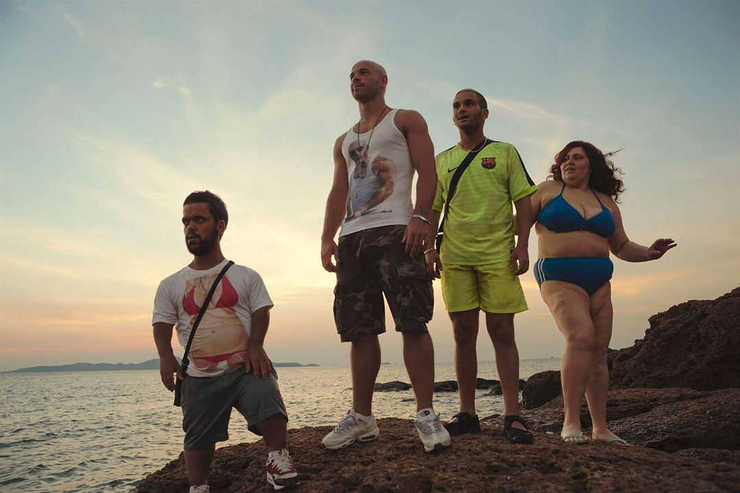 Pattaya : Photo Anouar Toubali, Franck Gastambide, Malik Bentalha