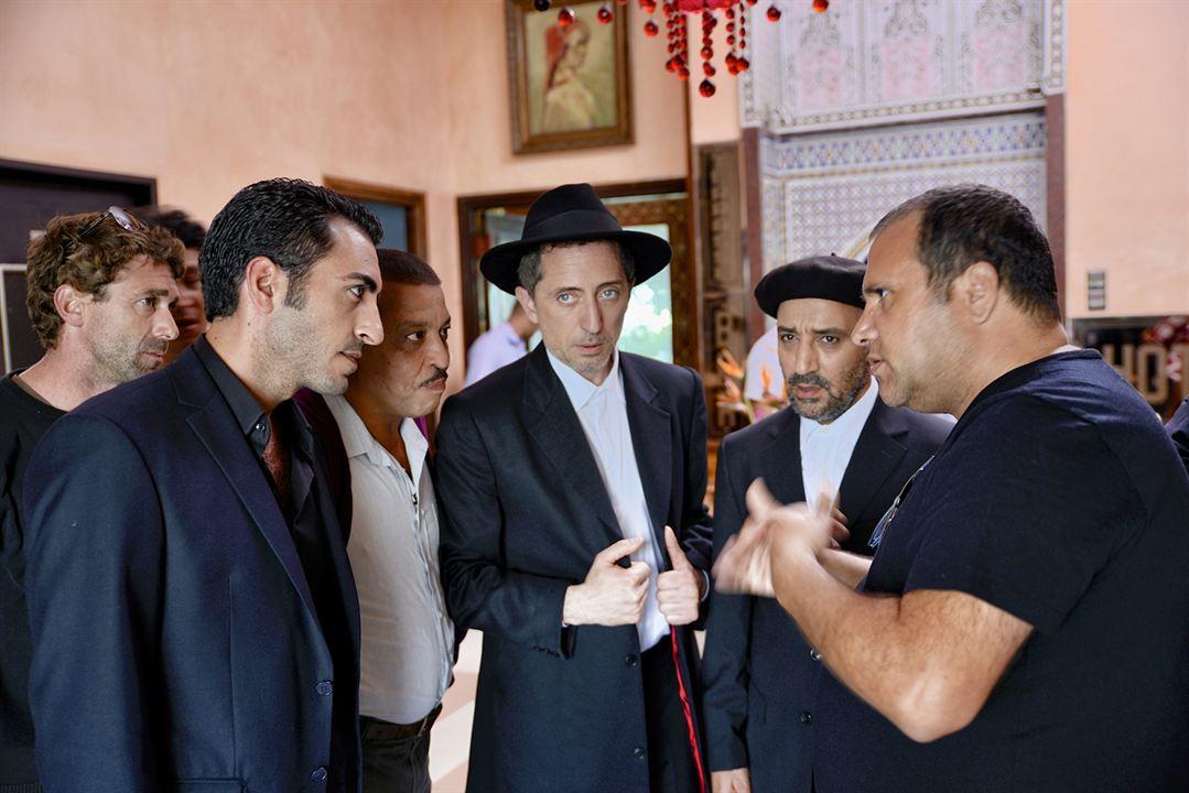 L'Orchestre de minuit : Photo Avishay Benazra, Aziz Dades, Gad Elmaleh, Hassan El Fad