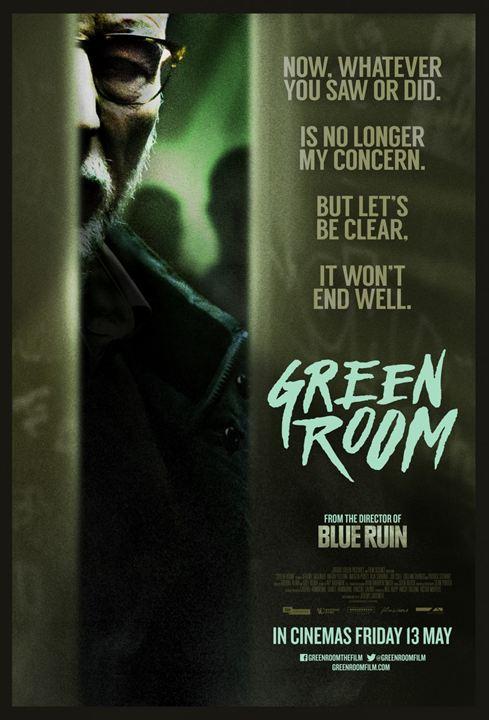 Green Room : Affiche