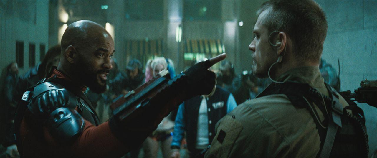 Suicide Squad : Photo Joel Kinnaman, Will Smith