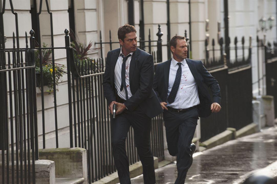 La Chute de Londres : Photo Aaron Eckhart, Gerard Butler