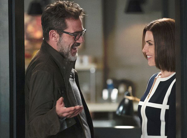 Photo Jeffrey Dean Morgan, Julianna Margulies