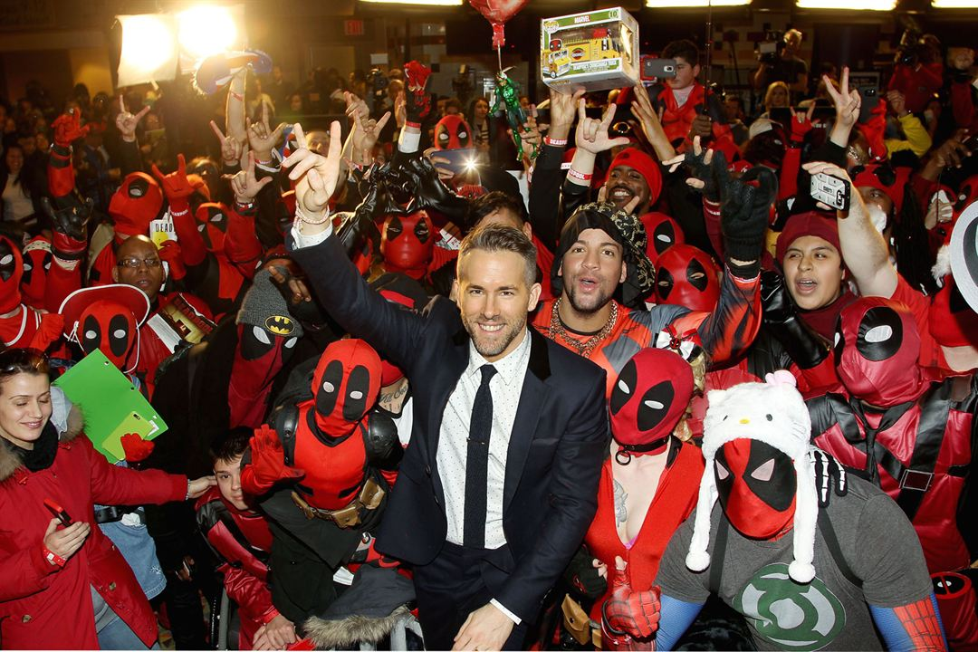 Deadpool : Photo promotionnelle Ryan Reynolds
