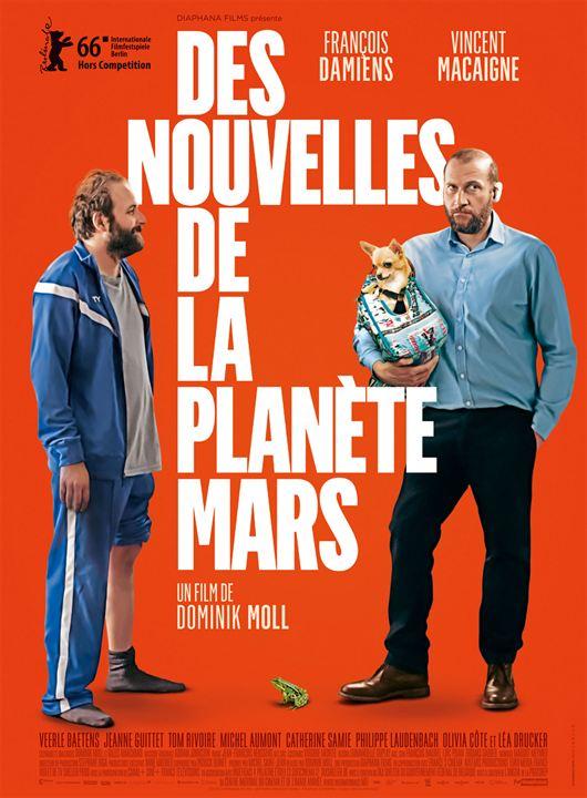 Des nouvelles de la planète Mars : Affiche