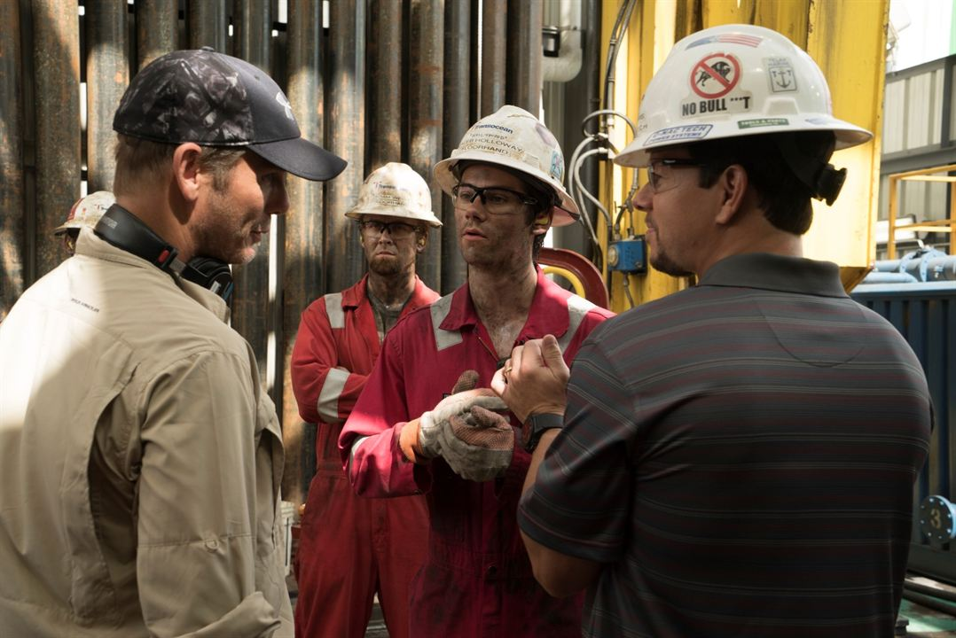Deepwater : Photo Dylan O'Brien, Mark Wahlberg, Peter Berg